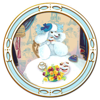 Poodle Cupcake Tea Party