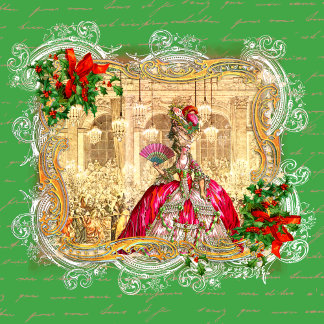 Marie Antoinette Christmas Versailles Tea Party