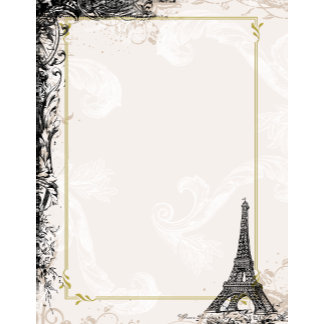 Eiffel Tower French Style