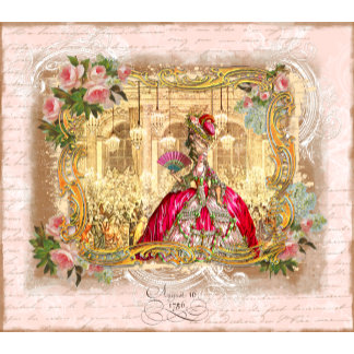 Marie Antoinette at Versailles Party in Pink