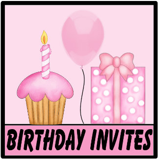 Personalized Birthday Invitations and Gifts